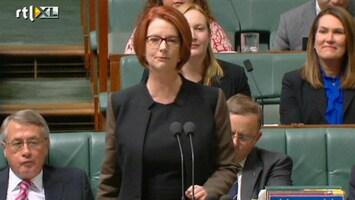 RTL Nieuws Australische premier Gillard stapt op