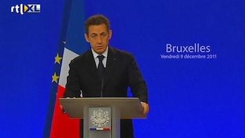 RTL Nieuws Sarkozy laakt houding 'Britse vrienden'