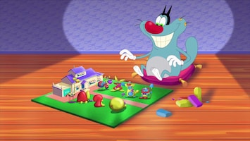 Oggy En De Kakkerlakken Playing dough