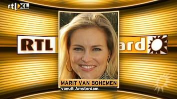 RTL Boulevard Marit van Bohemen over haar miskraam