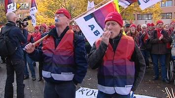 RTL Nieuws Rijksambtenaren voeren actie