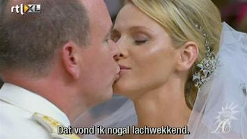 RTL Boulevard Geruchten over huwelijk Prins Albert en Charlene