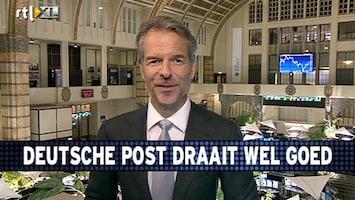 RTL Z Voorbeurs Deutsche Post draait wél goed, maar ze doen dan ook wél in pakketjes en PostNL veel minder