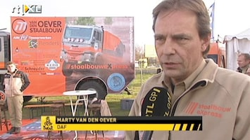 RTL GP: Dakar Pre-proloog Interview Marty van den Oever