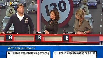 Wat Vindt Nederland? - Omdat Ik B Denk, Kies Ik Voor A