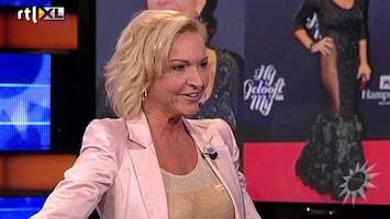RTL Boulevard Mariska van Kolck & haar jurk van Sandra Scheffer