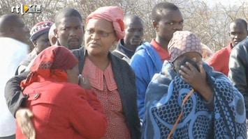 RTL Nieuws Massale herdenkingsmis voor doden schietpartij Zuid-Afrika