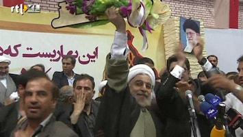 RTL Nieuws Sensatie in Iran: hervormer president