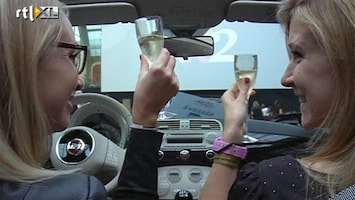 RTL Nieuws Parijs opent 'supèr de luxe' drive-in bioscoop