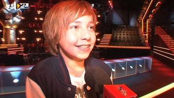 The Voice Kids Jesse was overdonderd