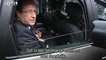 RTL Nieuws 'Hollande nieuwe president van Frankrijk'
