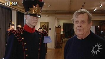 RTL Boulevard Het geheim van George Pisa over inhuldigingsuniformen