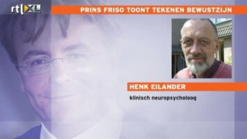 RTL Nieuws Neuropsycholoog: Kans op volledig herstel nog minimaal