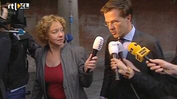 RTL Nieuws Rutte op bezoek bij verkenner Kamp