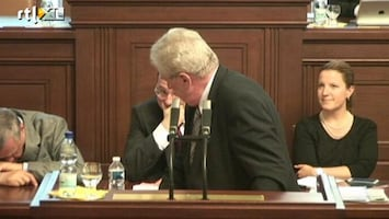 Editie NL Minister valt in slaap