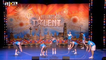 Holland's Got Talent Ropeskipping Rivierenhof (variety)
