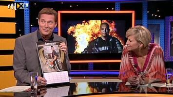 RTL Boulevard John Jones op sexy brandweermannenkalender
