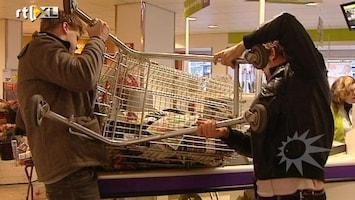 RTL Boulevard Coen en Sander zetten supermarkt op z'n kop