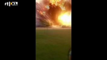 RTL Nieuws Nieuwe amateurbeelden explosie Texas
