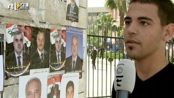 RTL Nieuws Damascus is positief over verkiezingen Syrië