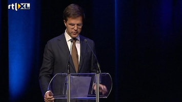 RTL Nieuws Rutte: kracht en saamhorigheid