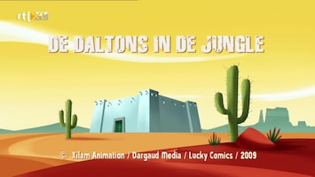 De Daltons in de jungle