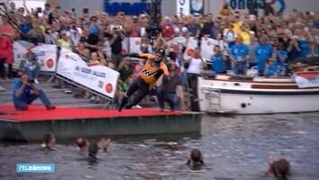 Zo begon Maarten van der Weijden aan zijn monsterzwemtocht