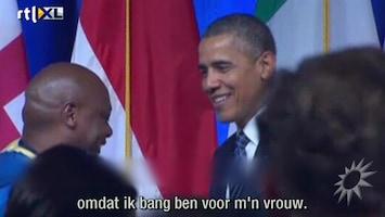 RTL Boulevard Obama bang voor Michelle
