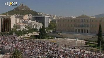 RTL Nieuws Massale staking in Griekenland