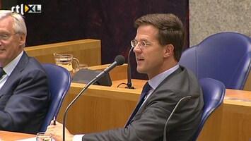 RTL Nieuws Rutte stevig aangepakt in debat europtop