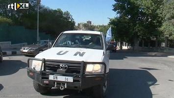 RTL Nieuws VN-waarnemers onderzoeken bloedbad Syrië