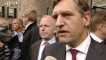 RTL Nieuws Reactie Sybrand van Haersma Buma (CDA)