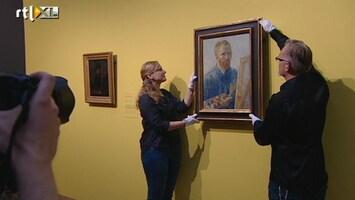 RTL Nieuws Toeristen blij met opening Van Gogh Museum