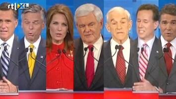 RTL Nieuws Voorverkiezingen in Iowa