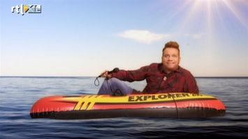 De TV Kantine Achterop mijn boot