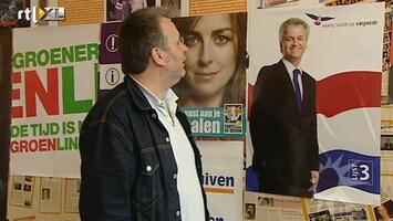 RTL Boulevard Verkiezingsposters worden weer opgehangen