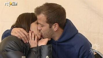 RTL Boulevard Rafael en Sabia nemen intrek in liefdesstulpje