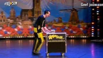 Holland's Got Talent Jan (goochelaar)