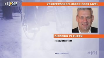 RTL Nieuws Rijkswaterstaat waarschuwt voor extreme gladheid