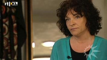 RTL Boulevard Mylène vindt Marijke Helwegen eng