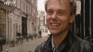 RTL Boulevard Armin van Buuren druk met babykamer