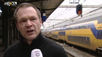 RTL Nieuws Spoorwerkers kondigen stakingen aan
