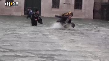 RTL Nieuws Venetië onder water na noodweer
