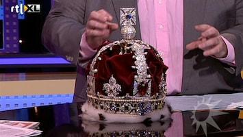RTL Boulevard Asscher maakt replica Engelse kroon