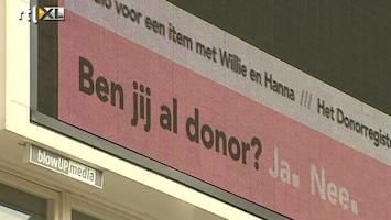 Editie NL Donor: je ziet er niks van