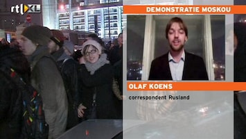 RTL Nieuws 'Uitzonderlijke demo in Moskou'