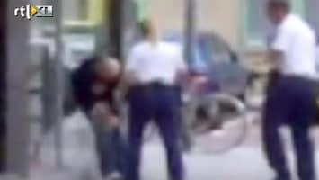 RTL Nieuws Agenten in opspraak door gewelddadige arrestatie