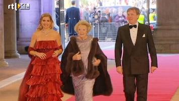 RTL Nieuws Aankomst koninklijke familie in Rijksmuseum