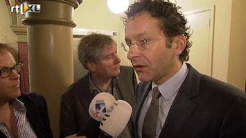 RTL Nieuws Dijsselbloem zoekt steun