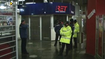 RTL Nieuws Deel Rotterdamse metro plat na instorting